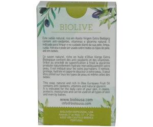 Savon pur huile d'olive, savon de Castille - Biolive