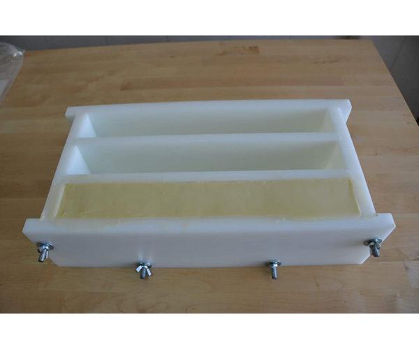 molde para 3 barras de sabão artesanal