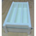 molde para 3 barras de sabão