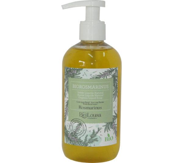 Sabonete liquido natural e Biológico